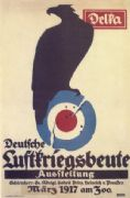 DELKA poster - German Air-Trophies Exhibition (1917)